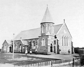 Noble Street church and school