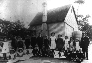 Ocean Grove: School in 1910