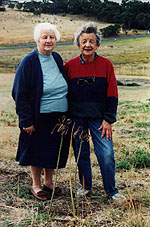 Marjorie Fox and Myrtle Filbay, Newington